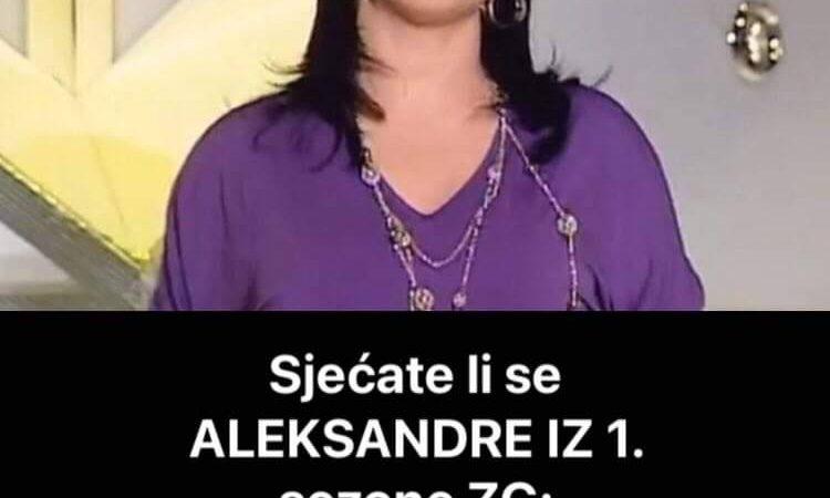 Pogledajte kako danas izgleda Aleksandra Ristanović iz prve sezone Zvezda Granda