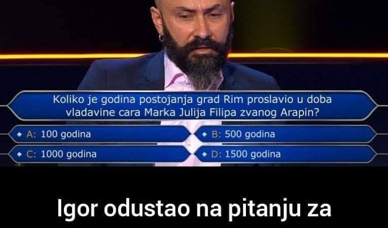Da li znate odgovor na ovo pitanje?