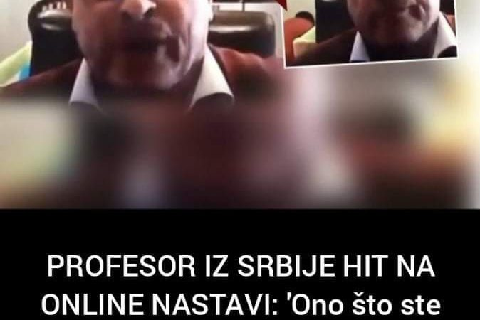Video profesora iz Srbije postao hit na internetu pogledajte zasto