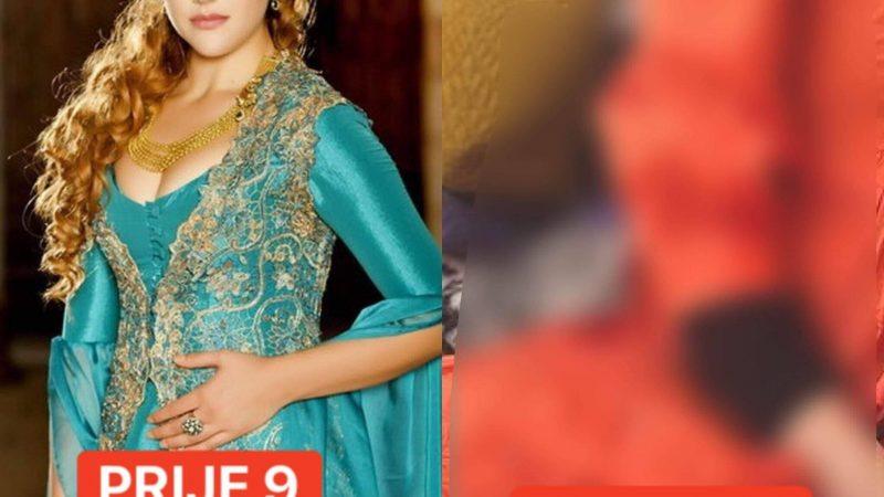 Pogledajte kako izgleda Hurem u 9. mjesecu trudnoće!