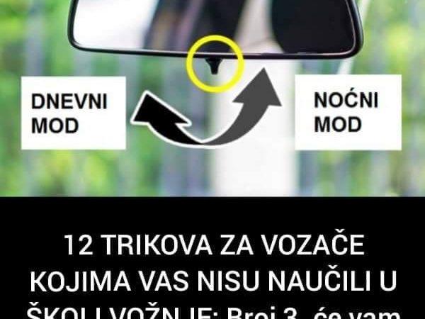 Pogledajte nekoliko trikova za vozače, koji će vam olakšati vrijeme provedeno u autu