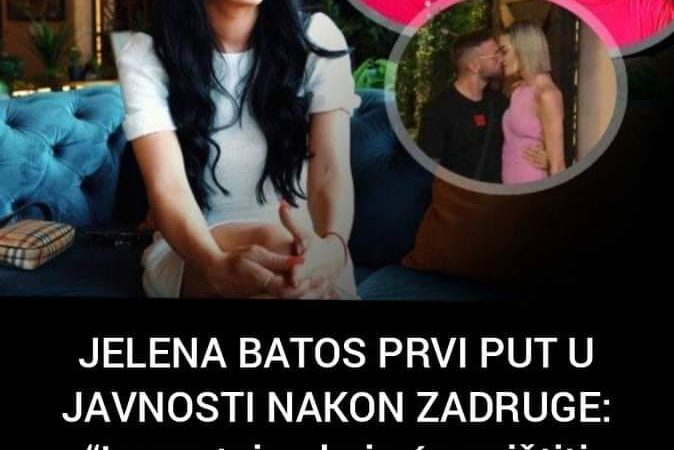 Jelena Batos prvi put u javnosti govorila istinu o reperu Sha