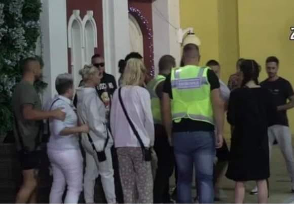 Sandra Rešić napravila karambol, obezbjeđenje je moralo reagovati